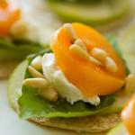 Apricot Tortilla Stacks